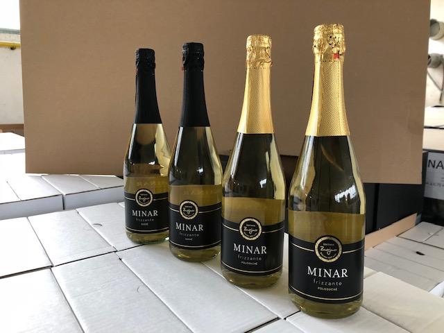 Šumivá vína Minar Frizzante