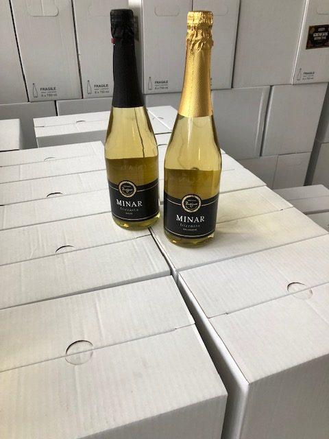 Bílá šumivá vína Minar Frizzante