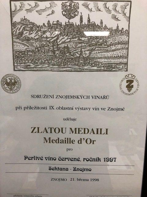 IX. oblastní výstava vín ve Znojmě